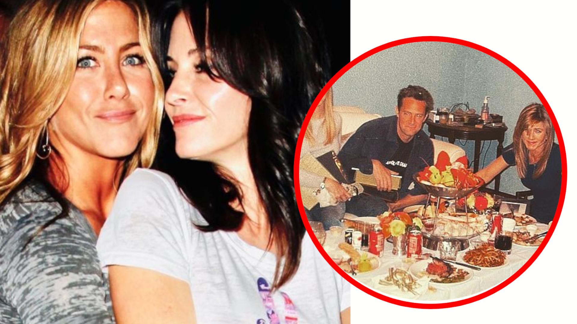 Tak wyglądała pożegnalna kolacja Przyjaciół – Courteney Cox pokazała historyczną fotkę