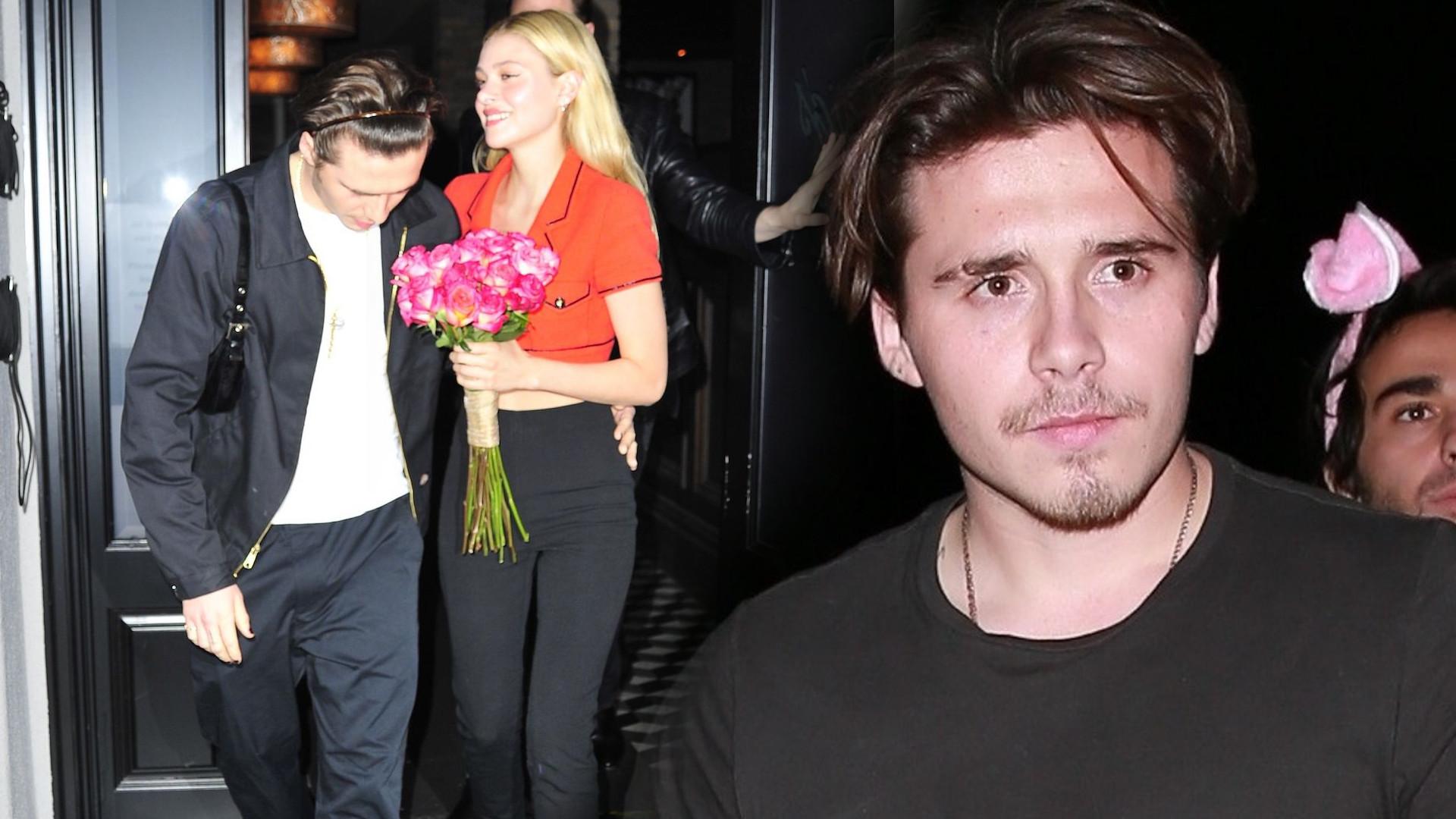 Brooklyn Beckham pokazał nową dziewczynę na Instagramie w… RĘCZNIKU! Przesadził?