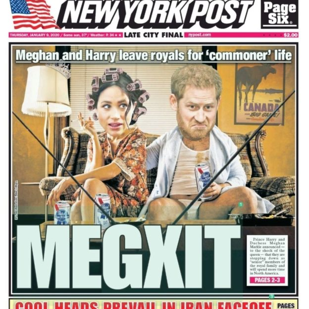 Media reacts to Megxit