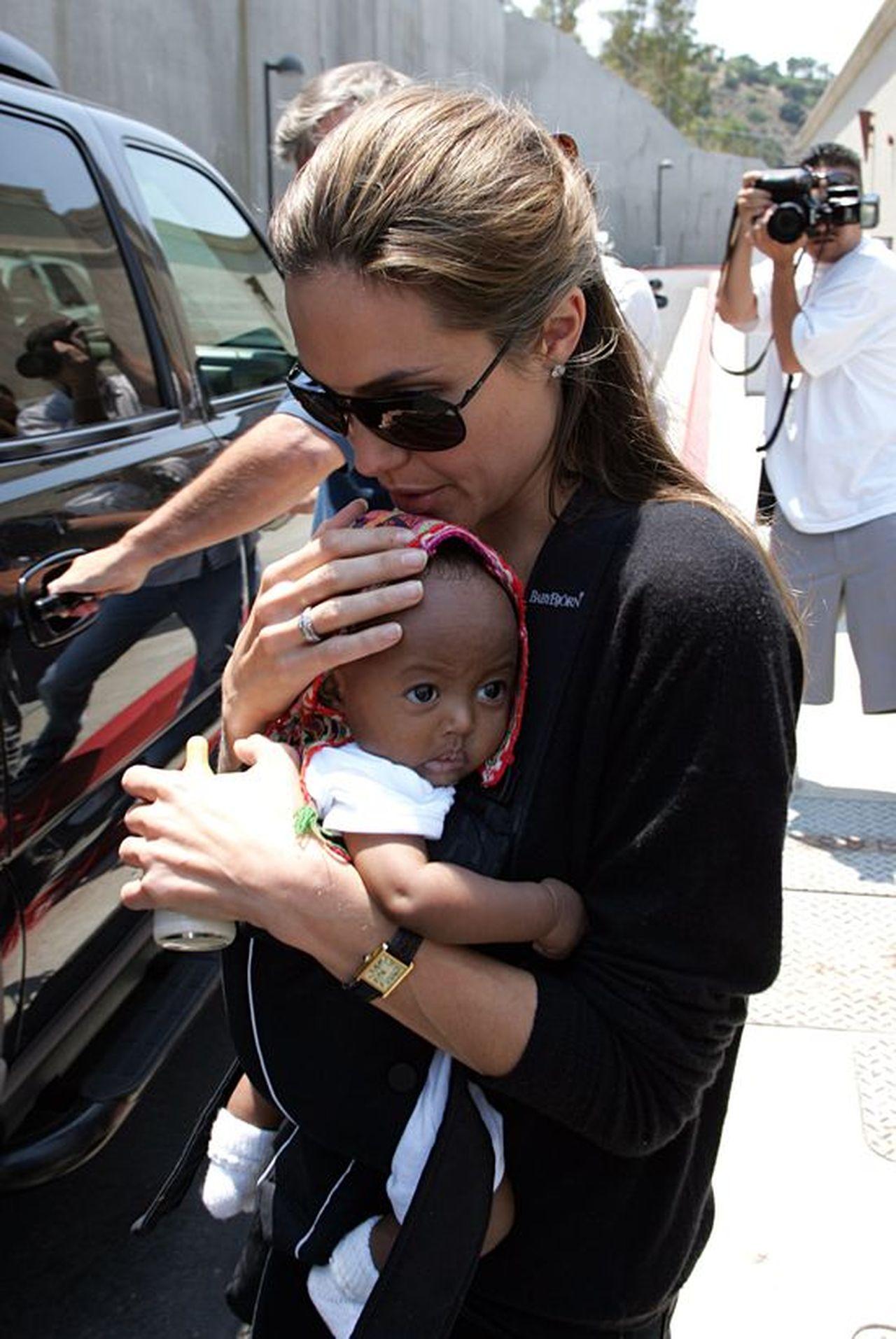 Tak się ZMIENIŁA Zahara Jolie-Pitt. Wyrosła na modelkę!