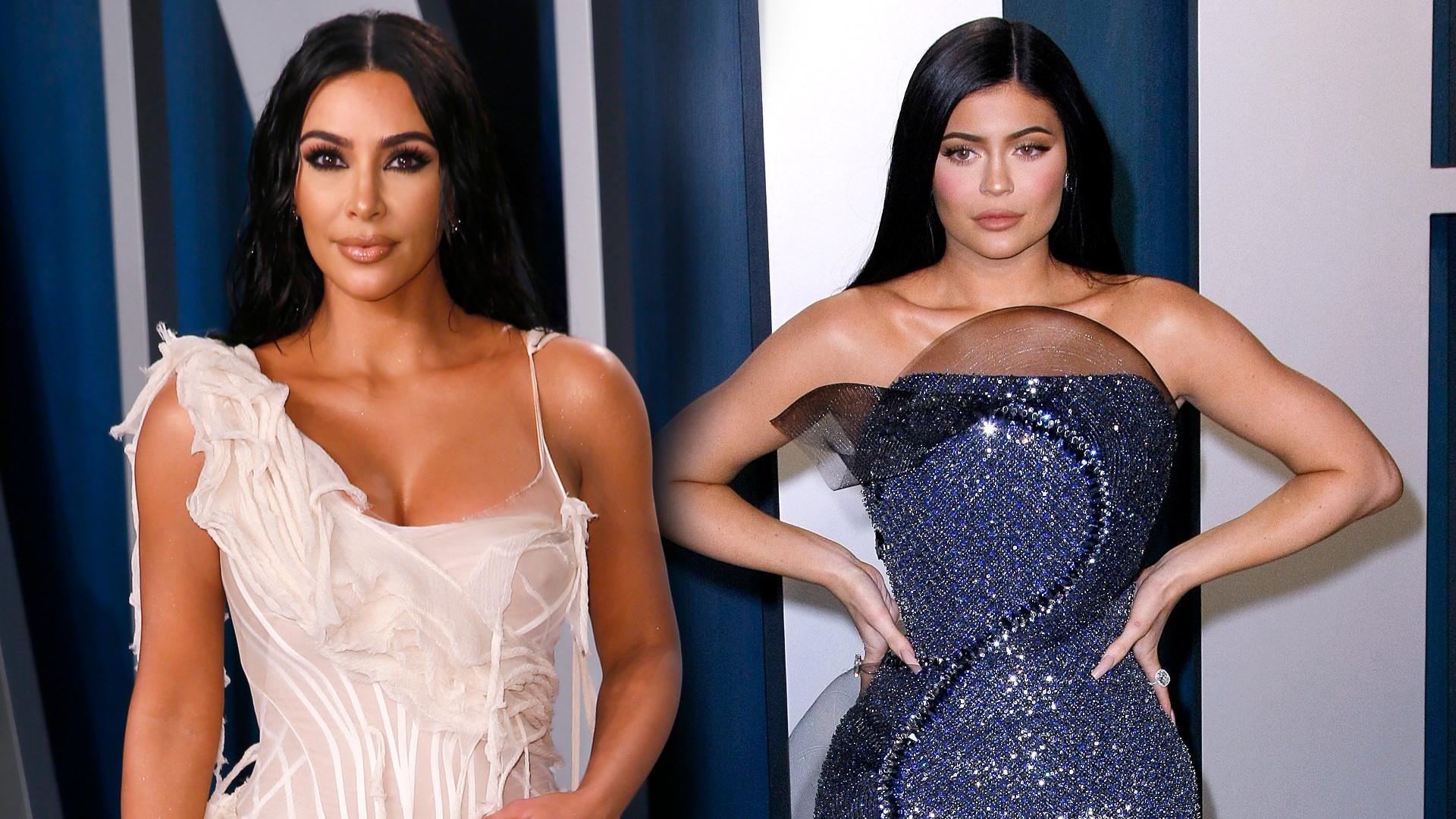Kylie Jenner czy Kim Kardashian? Która wyglądała LEPIEJ na gali Vanity Fair? (ZDJĘCIA)