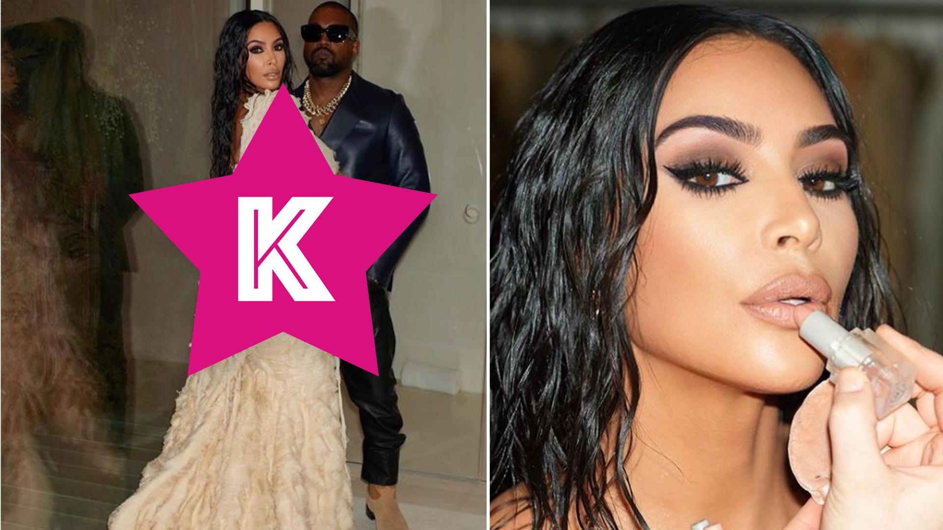 Kim Kardashian nie przepuściłaby takiej okazji do pokazania się. Kardashianka z mężem na imprezie po Oscarach (FOTO)