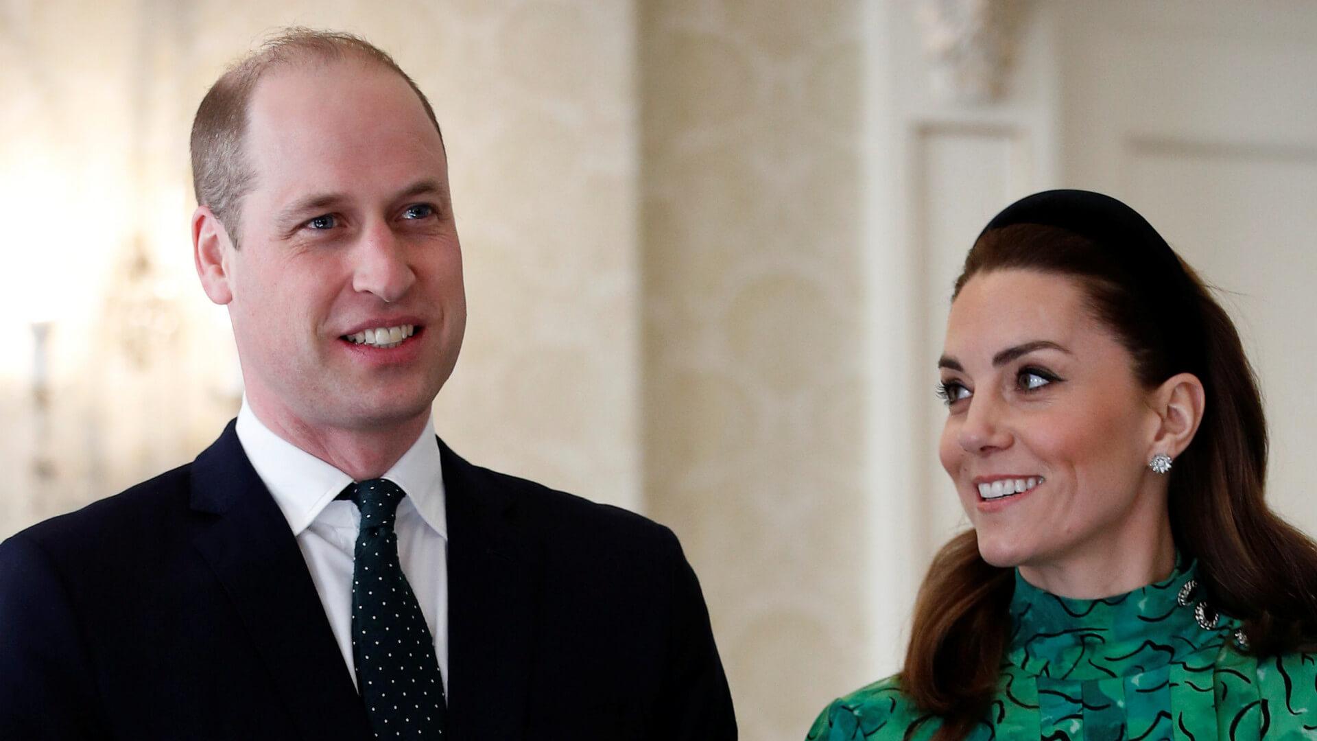 Elegancka Księżna Kate jak prawdziwy SZMARAGD i książę William odwiedzają Irlandię (FOTO)