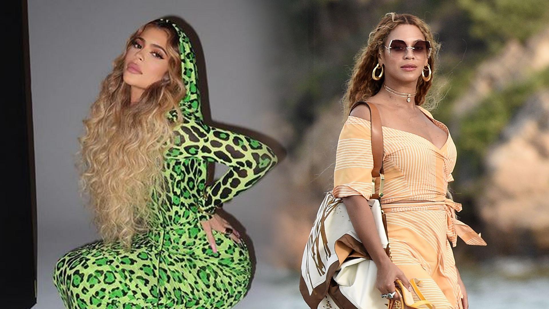 Fani śmieją się z Kylie Jenner, która coraz bardziej upodabnia się do Beyonce