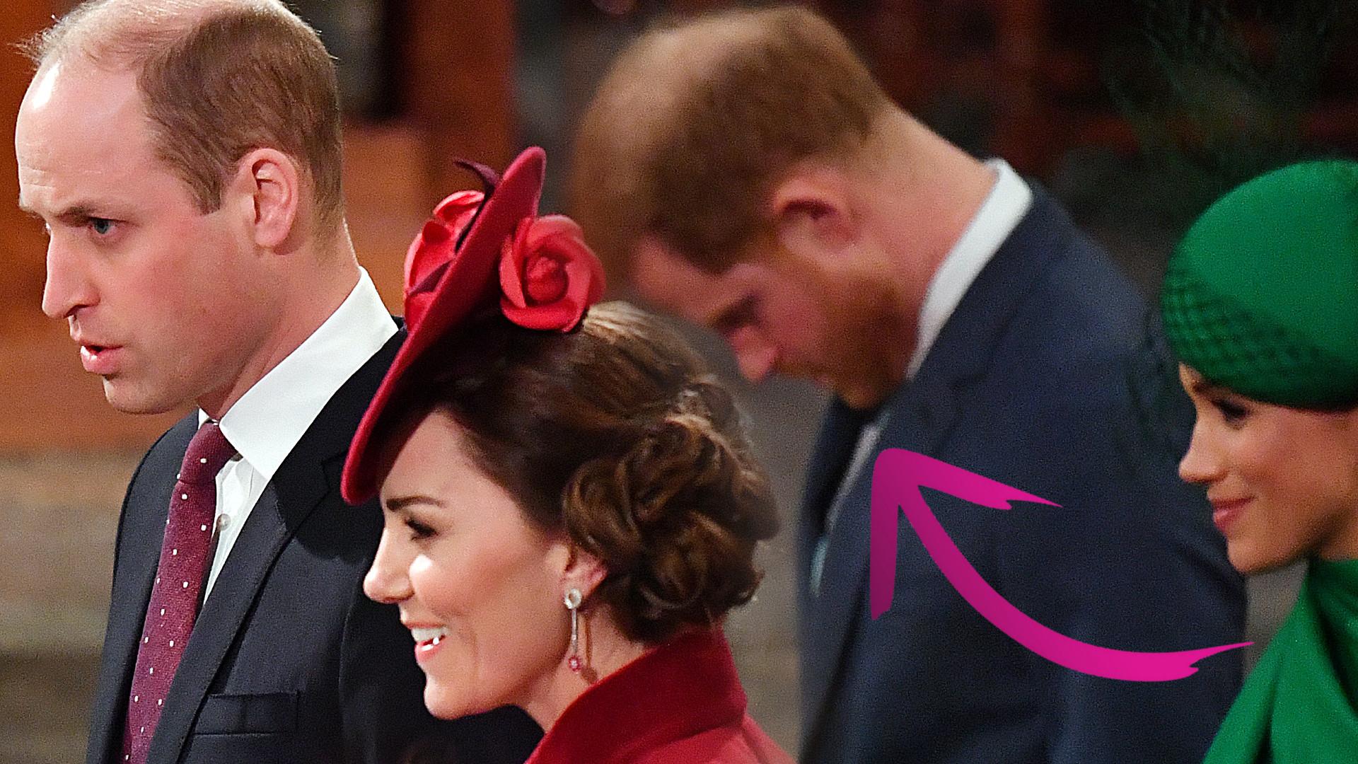 A więc WOJNA? Zobaczcie jak Kate i William ZIGNOROWALI Meghan i Harry'ego (ZDJĘCIA+VIDEO)