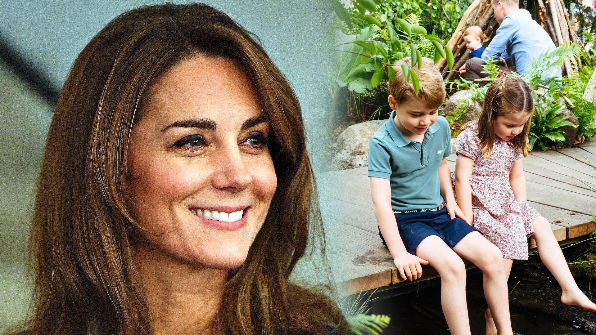 Ta kobieta miała szczęście! Zobaczyła księżną Kate z dziećmi w TAKIEJ sytuacji