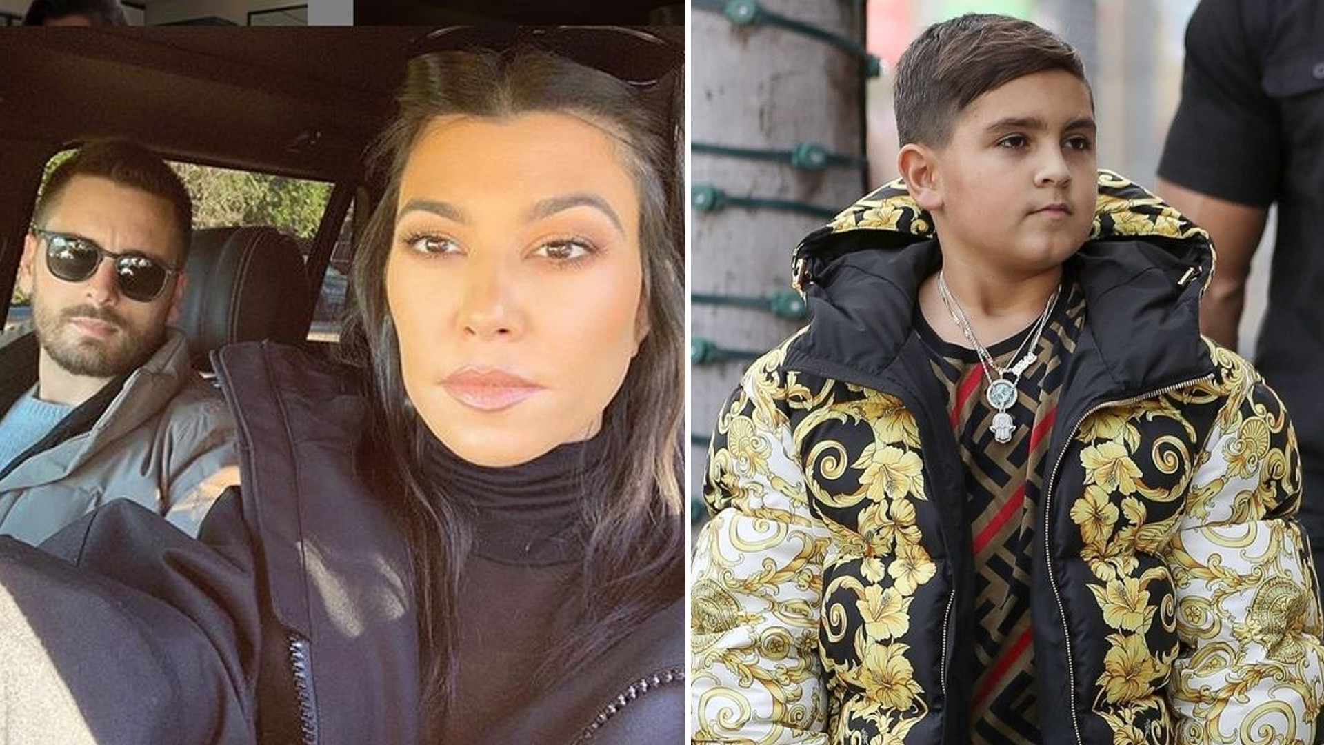 Kourtney Kardashian USUNĘŁA Instagram swojego syna. Jest surową matką
