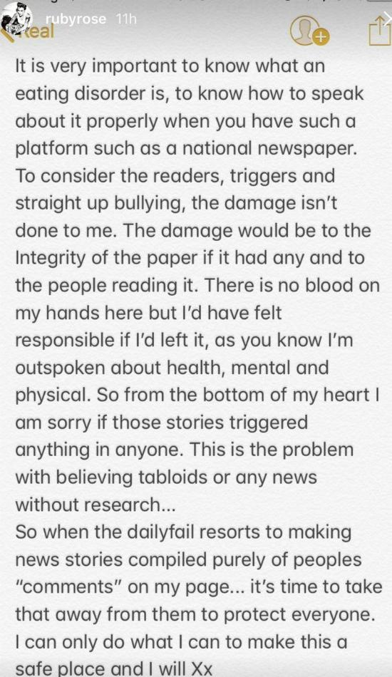 Ruby Rose komentuje publikacje o pryszczach i niedowadze! Jest wściekła na…