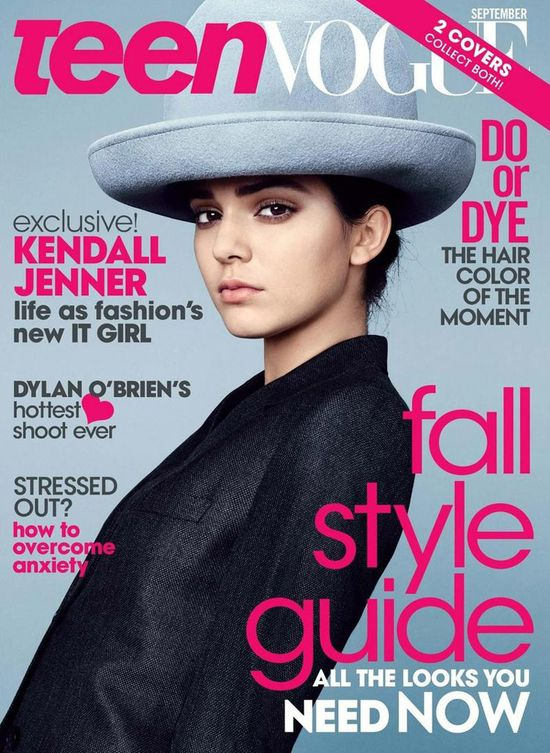Okładki Kendall Jenner