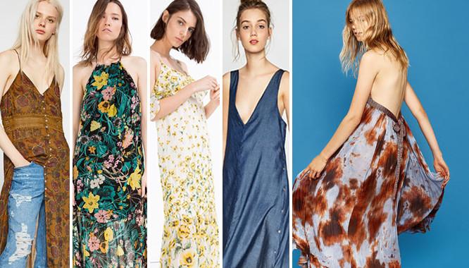 Wyprzedaż Zara – 10 modnych sukienek maksi lato 2016