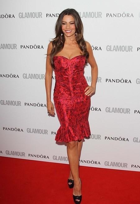 Sofia Vergara na czerwonych dywanach