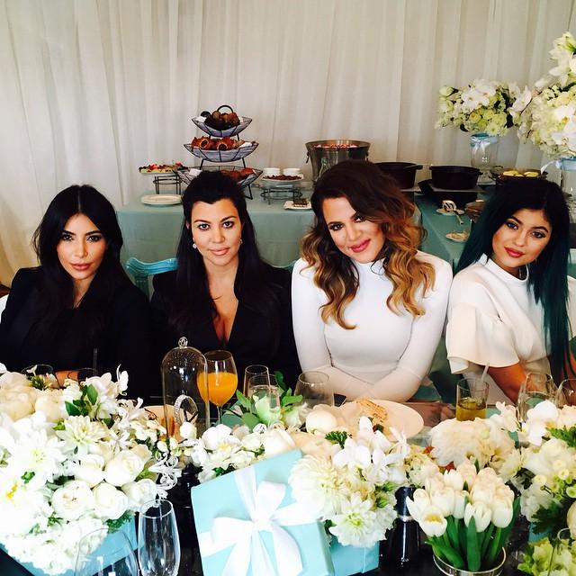 Kourtney Kardashian na Instagramie