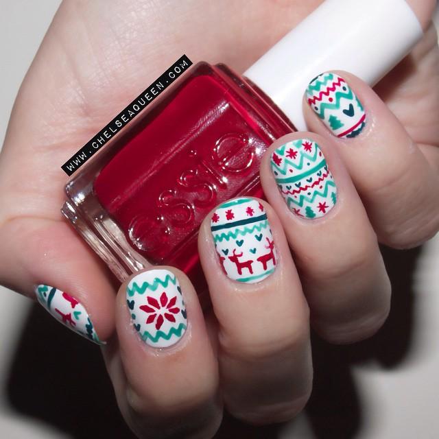 Paznokciowe inspiracje – manicure idealny na święta