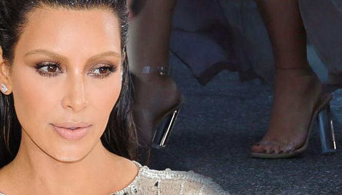 11 razy, gdy obcasy Kim Kardashian nie wytrzymały