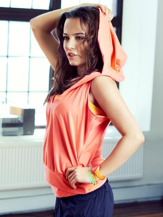 Anna Mucha w kampaniach marki Reebok