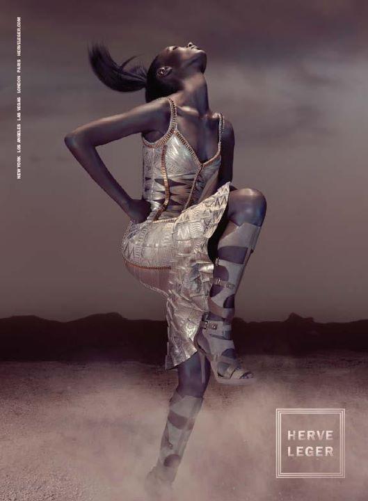 Herve Leger by Max Azria - pełna kampania reklamowa