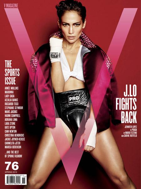Jennifer Lopez na ringu