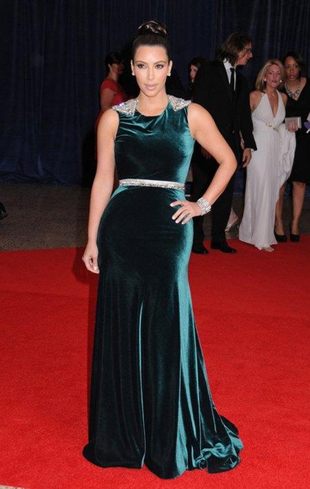 Coroczna impreza gwiazd w Białym Domu/Kim Kardashian