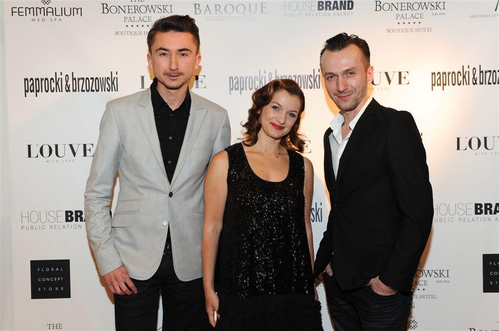 Paprocki i Brzozowski w butiku LOUVE